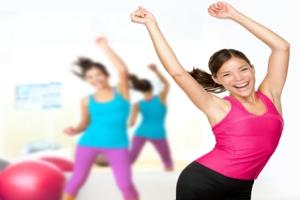 Frauen im Fitnessstudio
