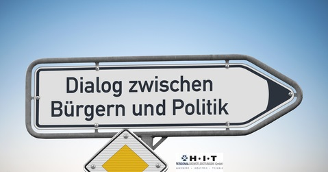 Dialog zwischen Buergern und Politik