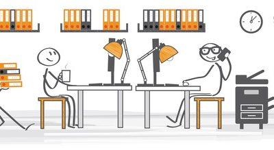So arbeiten Sie effektiv im Großraumbüro
